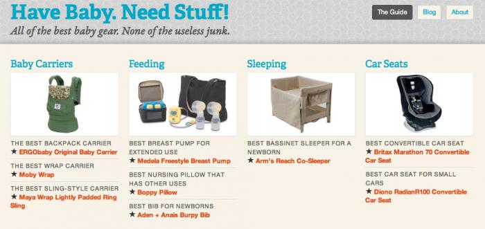 "WordPress Community links: How I built ""Have Baby. Need Stuff!"""
