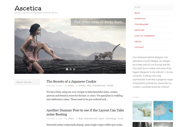 ascetia elegant theme for wordpres