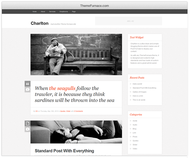charlton theme for wordpress