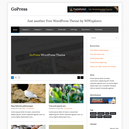 gopress-theme for wordpress