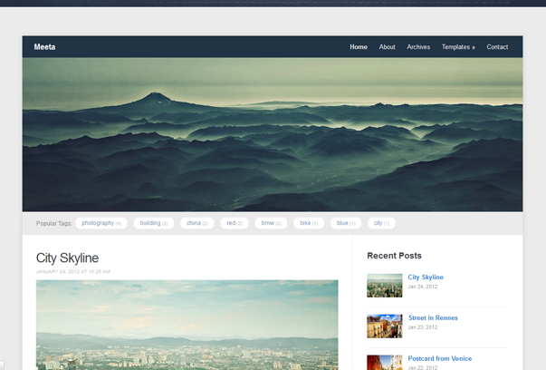 meeta wordpress theme