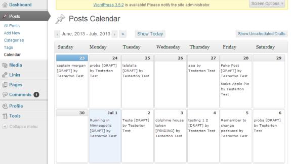 Post Schedule Plugin