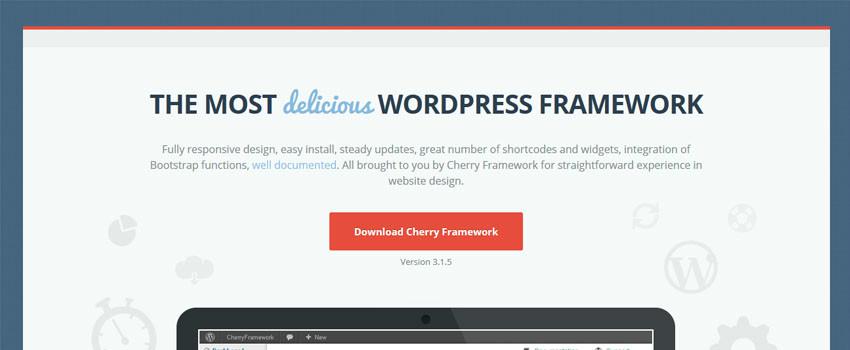Cherry Framework – WordPress Theme Framework Review