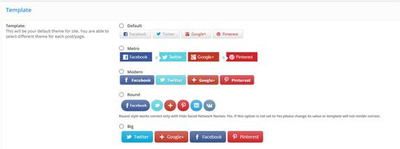Easy Social Media Buttons