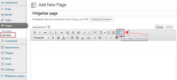 Widgets Widgetize Pages Light 02