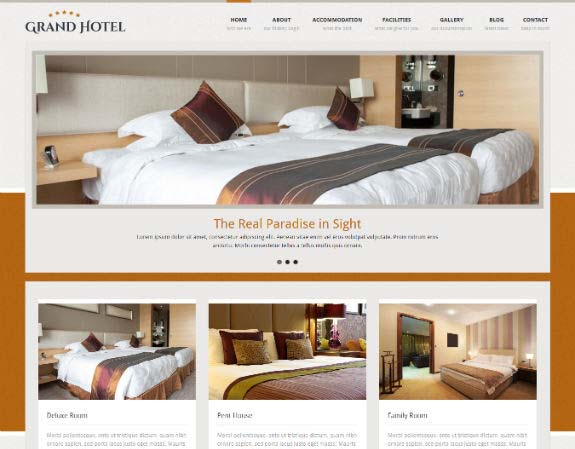 Grand Hotel WordPRess Theme
