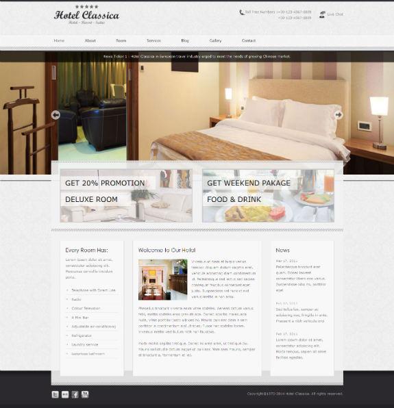Hotel Classica - Just another TemplateSquare.com WordPress Demo Sites site 2014-01-25 18-14-11