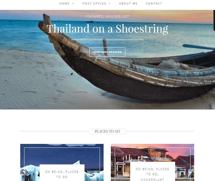 Travel Theme - Wanderlust