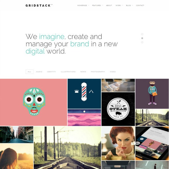 gridstack-wordpress-theme