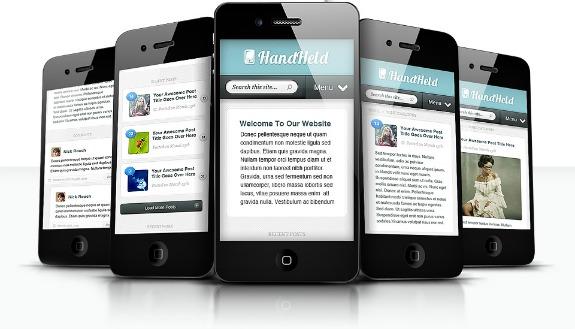 HandHeld mobile WordPress theme