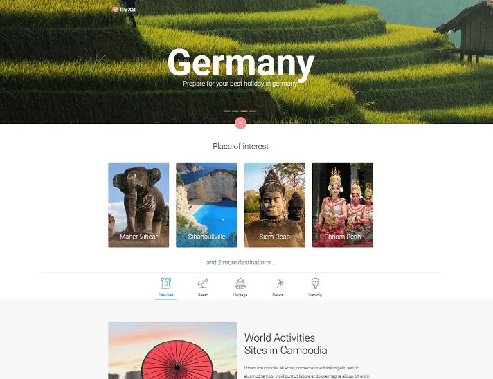 nexa joy - travel agency