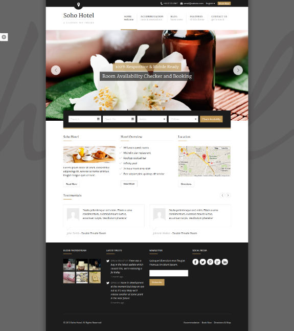 soho WordPress Theme
