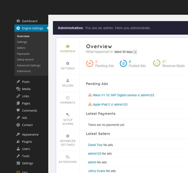 Overview Dashboard