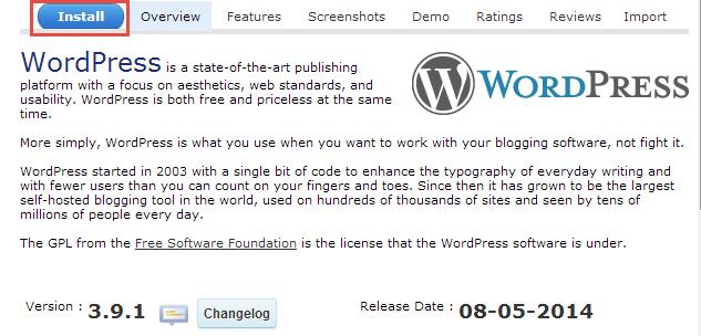 install-wordpress-softaculous-3