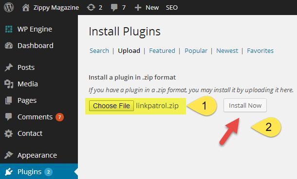 01-install-linkpatrol-in-wordpress-linkpatrol-wordpress-plugin-wpkube