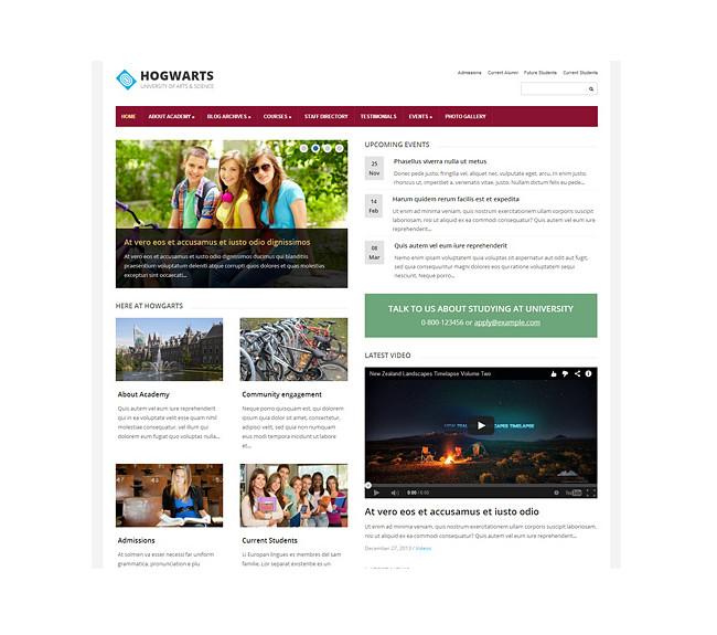 Elementary - A Premium Educational WordPress Theme