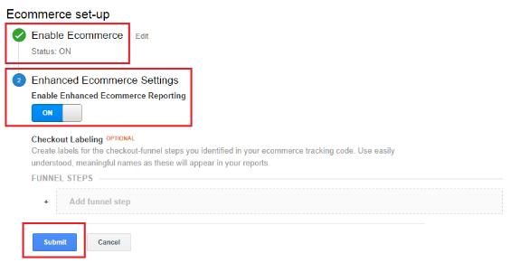 ecommerce-settings-on