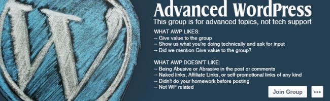 Advanced WordPress Group