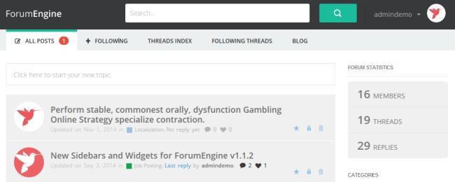 ForumEngine
