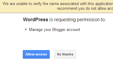 Requesting Permission