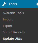 Update URLs