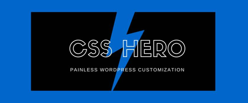 CSS Hero Review: Taking The Pain Out Of WordPress Customization