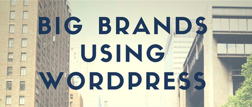45 Popular Brands Using WordPress