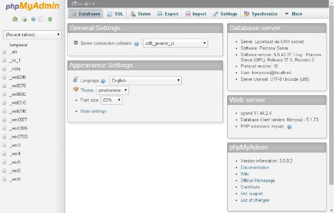 databases-tab-in-phpMyAdmin