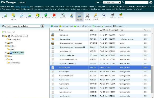 editing-wp-config-using-the-code-editor-menu-item