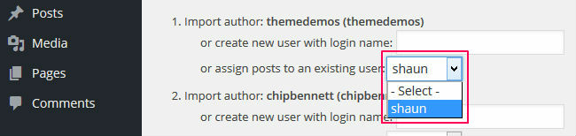 Assign author to dummy content