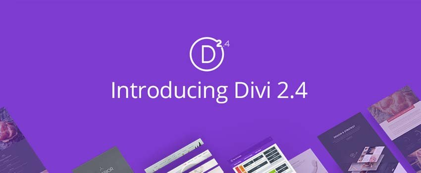 Divi 2.4 Release: The Classic Elegance with a Fresh New Future