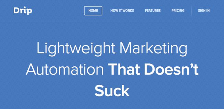 Email marketing platform roundup - Drip