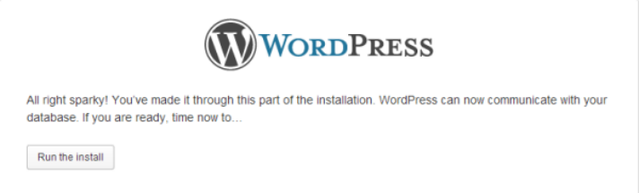 how-to-install-wordpress-successful-database-connection