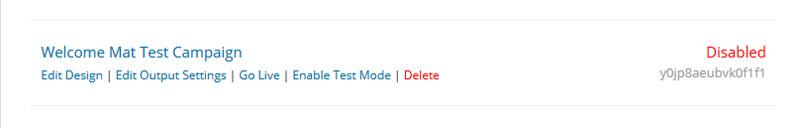 OptinMonster Edit Output Settings
