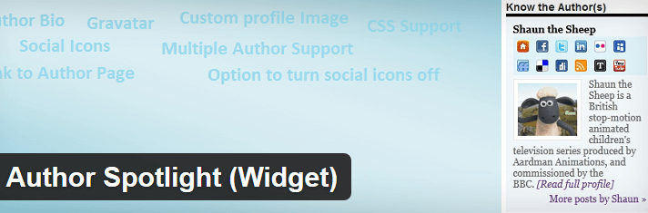 Author Spotlight WordPress Plugin