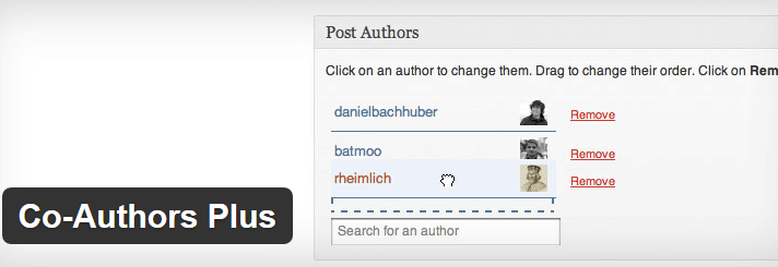Co-Authors Plus WordPress Plugin