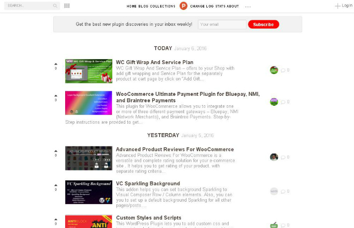 plugin-hunt-review-demo-site
