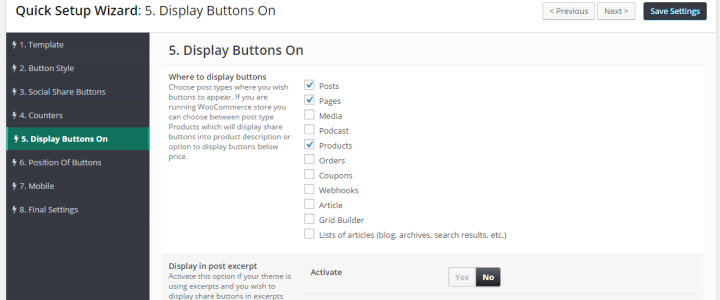 display-buttons