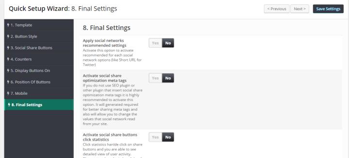 final-settings