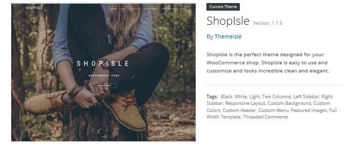 ShopIsle Ecommerce Theme