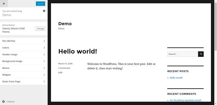 Use The WordPress Customizer To Change The Design Of A WordPress Theme