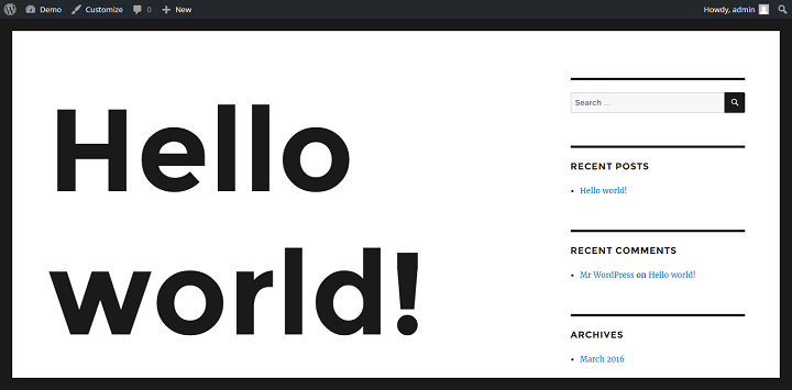 Changing The Header Font Size In A WordPress Theme