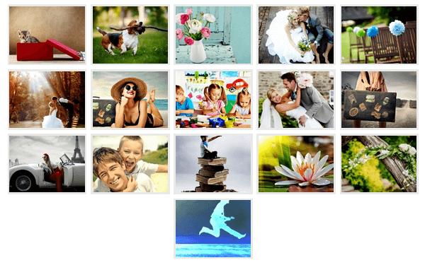 Photo Gallery - Thumbnail View