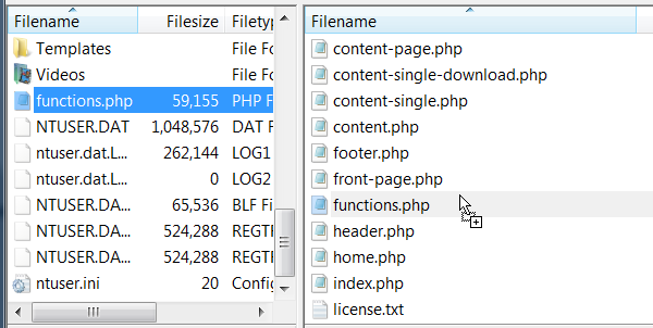 Upload Edited File to FTP Server