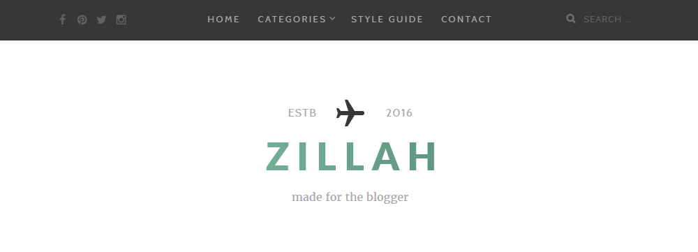 Zillah Review Header