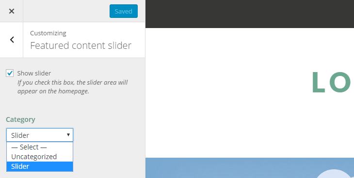 Zillah Review Slider Settings