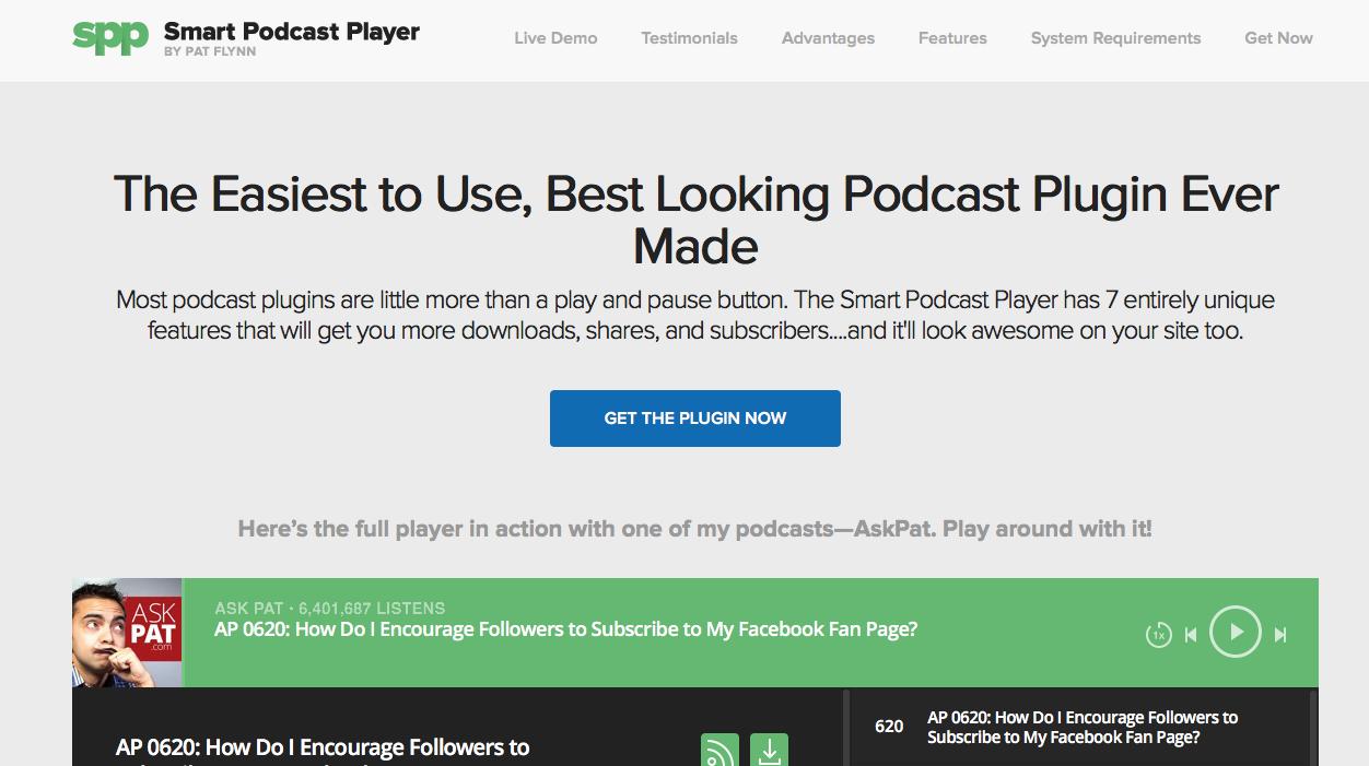 smartpodcastplayer