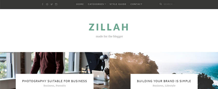 Zillah Review – A Fresh and Free New Blogging Theme for WordPress