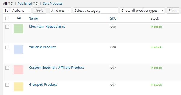 Merchandiser Demo Products