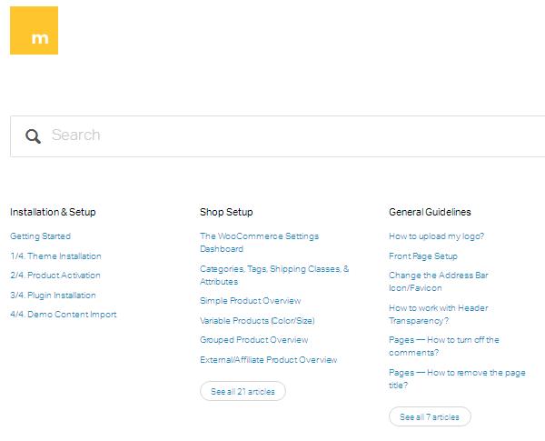 Merchandiser Documentation